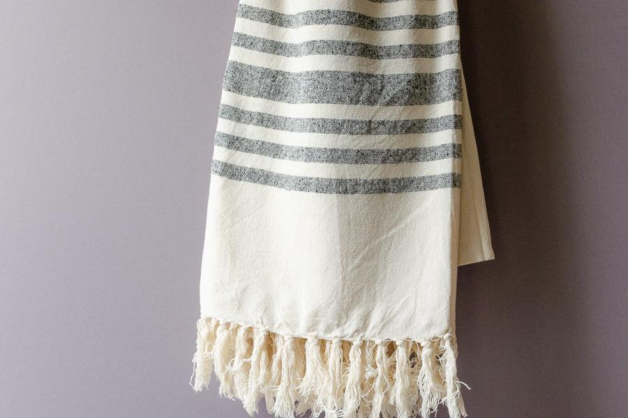 Antakya Raw Silk Towel