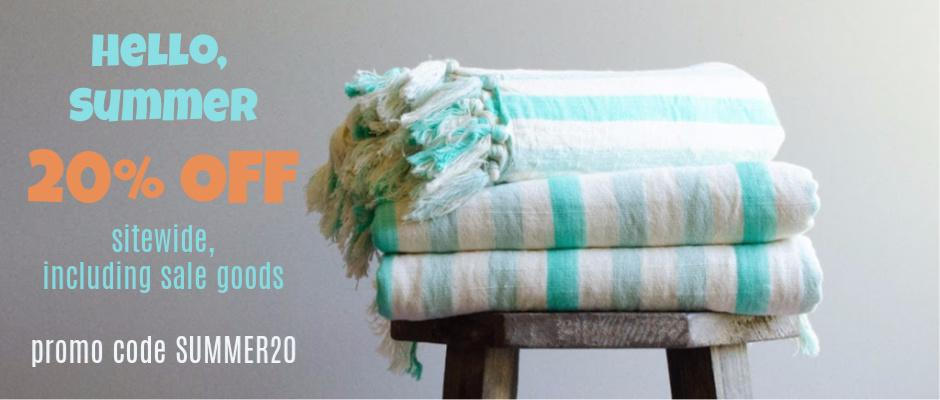 Traditional Turkish Linen Towels
