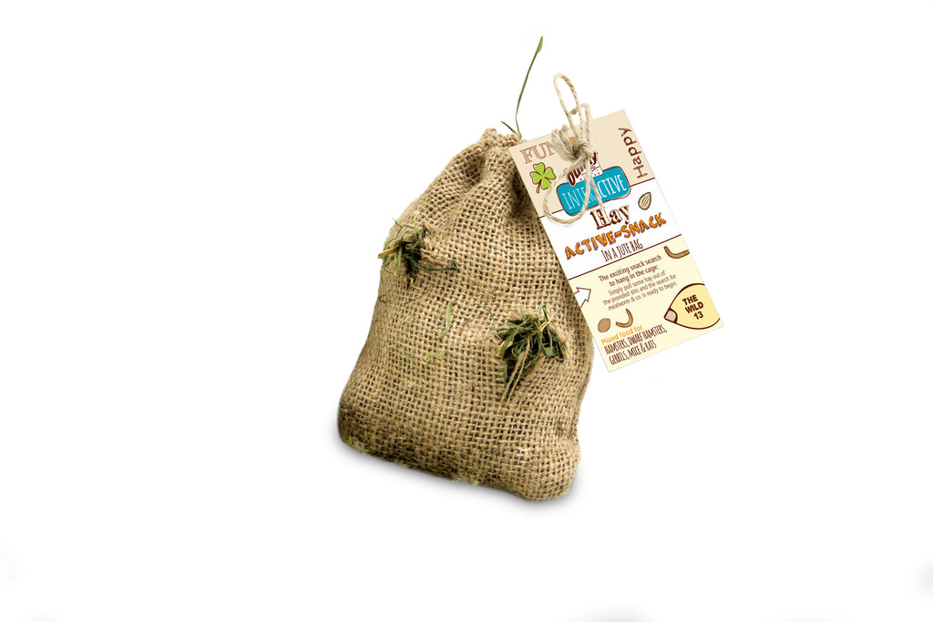 Bunny Nature Hay Active Snack The Wild 13 30g