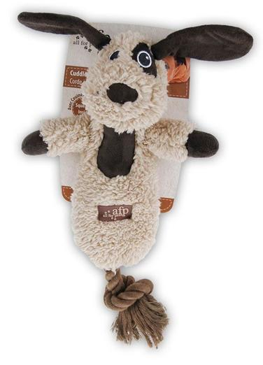 All For Paws Lambswool Cuddle Rope Toy