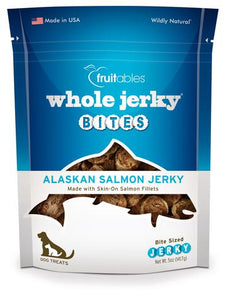 Fruitables Whole Jerky Bites Alaskan Salmon Dog 5oz
