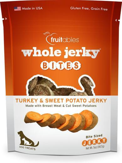 Fruitables Turkey & Sweet Potato Jerky Bites 5oz