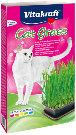 Vitakraft Cat Grass 120g (6/carton)