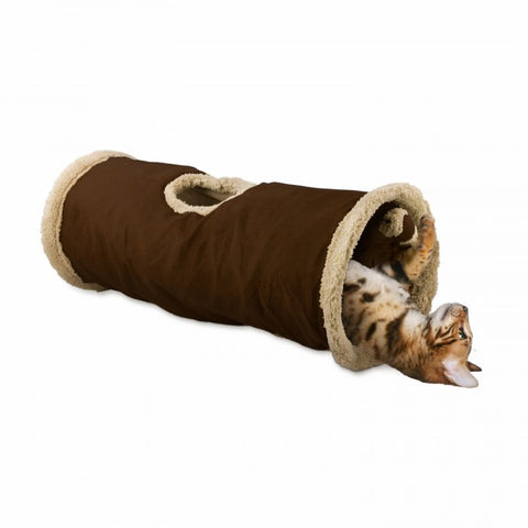 Image of AFP Lambswool Find Me Cat Tunnel