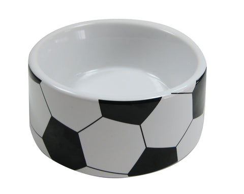 Vitakraft Soccer Ceramic Bowl