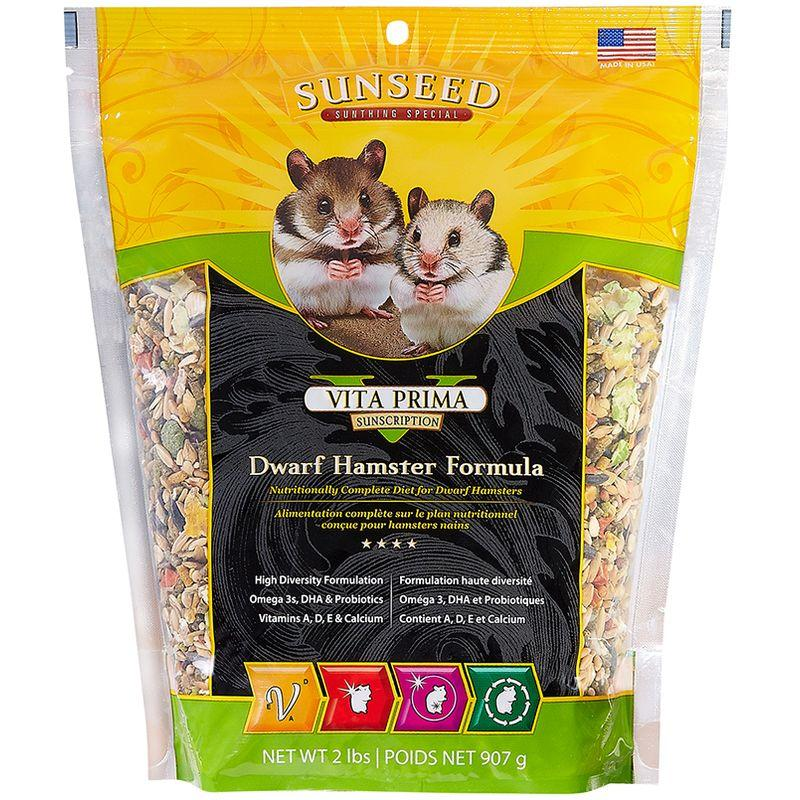 Sunseed Vita Prima Sunscription Dwarf Hamster Formula 2lb