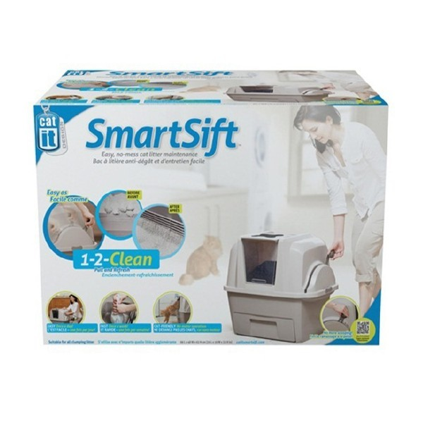 CATIT SMARTSIFT SIFTING CAT PAN
