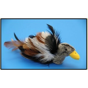 SANXIA FINE FEATHER TOY BABY DUCK