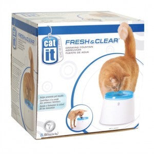 CATIT DESIGN FRESH & CLEAR CAT DRINKING FOUNTAIN 2L