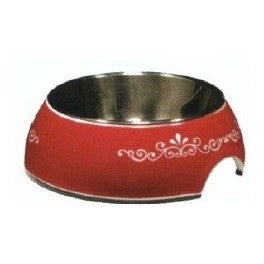 54527 STYLE BOWL WITH PATTERNS AND STAINLESS STEEL INSERT - URBAN