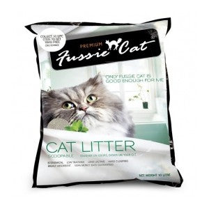 FUSSIE CAT LITTER ORIGINAL 10L