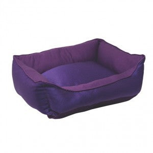 D5206 DOGIT REVERSIBLE CUDDLE BED PURPLE GLAM