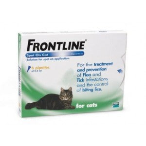 FRONTLINE SPOT ON FOR CAT