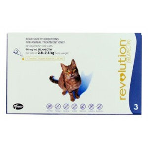 REVOLUTION FOR CAT 2.6KG-7.5KG (3 TUBES)