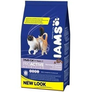 IAMS MULTI CAT SALMON 15KG