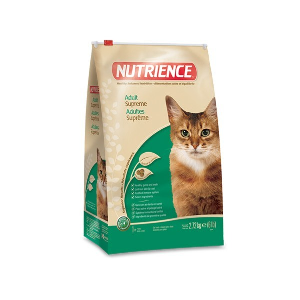 C2374 NUTRIENCE ADULT INDOOR SUPREME 2.72KG