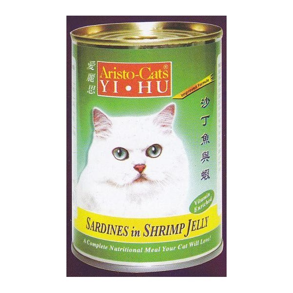 ARISTO-CATS SARDINES IN SHRIMP JELLY 400G