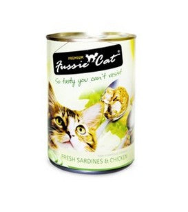 FUSSIE CAT FRESH SARDINE & CHICKEN 400G X 24CANS