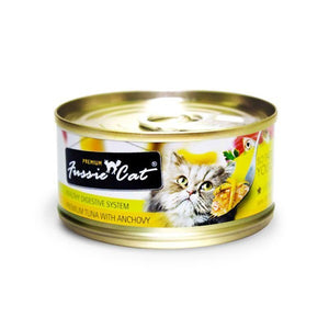 FUSSIE CAT PREMIUM TUNA WITH ANCHOVY 3OZ X 24CANS