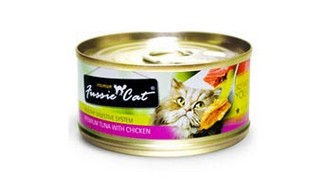 FUSSIE CAT PREMIUM TUNA WITH CHICKEN 3OZ X 24 CANS