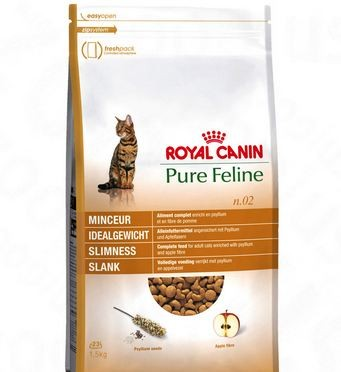 ROYAL CANIN PURE FELINE SLIMNESS NO.2 1.5KG