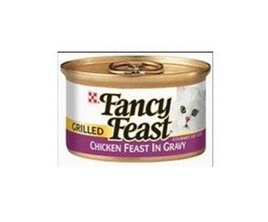 FANCY FEAST PREMIUM GRILLED CHICKEN FEAST 85G X 24CANS