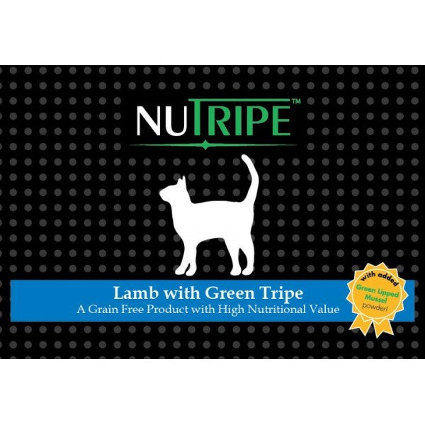 NUTRIPE CAT LAMB WITH GREEN TRIPE 185G-24CANS