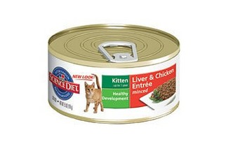 SCIENCE DIET KITTEN HEALTHY DEVELOPMENT LIVER & CHICKEN ENTREE 5.5OZ X 24CANS