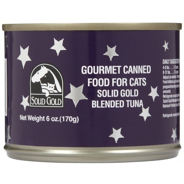 SOLID GOLD TUNA CANNED 6OZ-24CANS