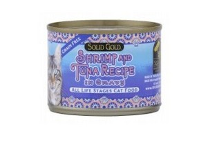 SOLID GOLD SHRIMP & TUNA CANNED 6OZ-24CANS