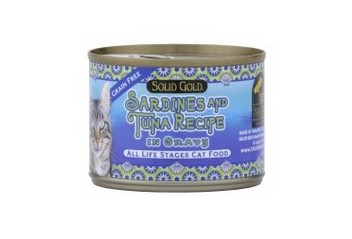 SOLID GOLD SARDINE & TUNA CANNED 6OZ-24CANS