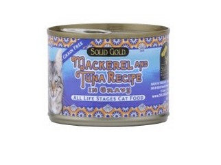 SOLID GOLD MACKEREL & TUNA CANNED 6OZ-24CANS