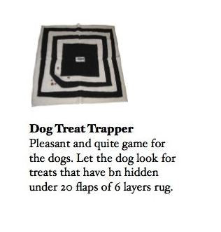BRIO DOG TREAT TRAPPER