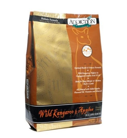 ADDICTION WILD KANGEROO & APPLES 15LBS