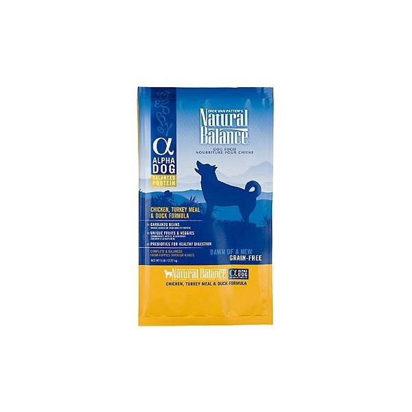 ALPHA DOG CHICKEN, TURKEY & DUCK FORMULA 12.5LB