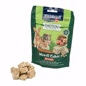 Vitakraft Emotion Muesli Cubes Fruit 80g SA