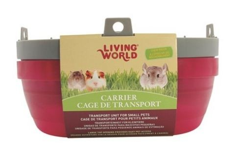 LIVING WORLD CARRIER FOR SMALL PETS (LARGE)