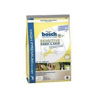 BOSCH SENSITIVE LAMB AND RICE 3KG