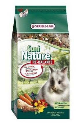 CUNI NATURE (RABBIT) RE-BALANCE 750G