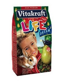 VITAKRAFT RABBIT LIFE DREAM 600G
