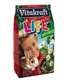 VITAKRAFT RABBIT LIFE WELLNESS 600G