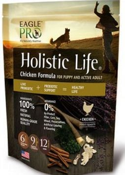 EP HOLISTIC LIFE CHICKEN FORMULA FOR PUPPY AND ACTIVE ADULT 30LB