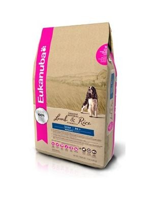 EUKANUBA SENIOR LAMB & RICE 3KG