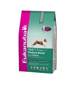 EUKANUBA ADULT MAINTENANCE MEDIUM BREED 3KG