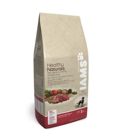 IAMS ADULT HEALTHY NATURAL LAMB & RICE 7LBS