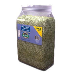 Alfalfa King Oat, Wheat & Barley 10lb (4.54kg)
