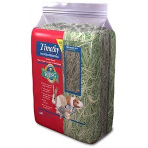 ALFALFA KING TIMOTHY HAY DOUBLE COMPRESSED 16OZ (454G)