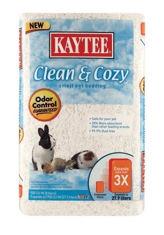 KAYTEE CLEAN N COZY BEDDING 500CU