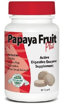 OXBOW PAPAYA FRUIT PLUS SMALL ANIMALS SUPPLEMENT