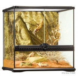 PT2605 Exo Terra Small Wide Terrarium (450mm X 450mm X 450mm)